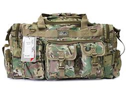 """26"""" 1200 cu.in. Tactical Duffle Military Molle Gear Shoulder"""
