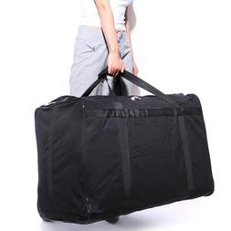 140L Large Canvas Travel Luggage Duffel Bag Pack Home Storag