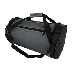 "18"" Round Duffle Bag Flexible Roll Bag Gym Traveling Bag"