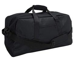 "DALIX 18"" Two Tone Duffle Bag Medium - Black"