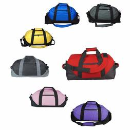 "DALIX 18"" Two Toned Gym Duffle Bag Travel Yoga Medium"