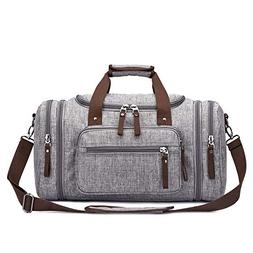 Toupons 20.8'' Travel Duffel Bag Men's Weekender Duffle Bag