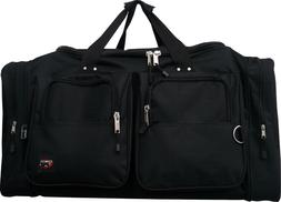 "22""/25""/30"" Heavy Duty Polyester Duffle Bag /Gym / Sports /"
