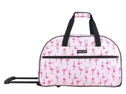 Betsey Johnson 22 Inch Designer Carry On Luggage - Satchel W