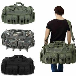 "4d816a2ce1 30"" Large Men Duffle Bag Military Molle Tactical Cargo Gea"