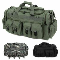 "30"" Large Men's Duffle Bag Military Tactical Cargo Gear Lugg"