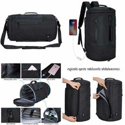 35L Travel Duffel Backpack For Laptop Weekend Luggage Gym Ba