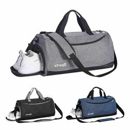 35L Travel Duffle Bag Men's Tote Sport Gym Overnight Luggage