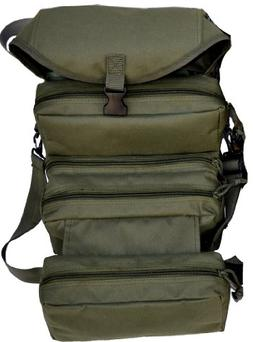 Explorer 4 Fold Tool Medical First Aid Duffle Bag, Olive Gre