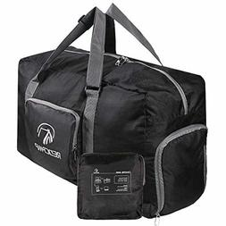 45L Lightweight Waterproof Foldable Gym/Travel Duffle Bag wi