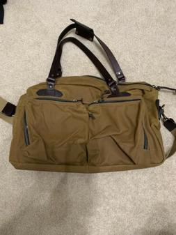 Filson 48 Hour Duffle Duffel Bag 328 70328 Tin Cloth Tan Bra
