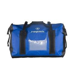 481 Stansport Waterproof Dry Duffel Bag 65L Blue
