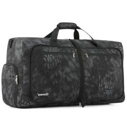 60/80/100L Camouflag Packable Duffel for Travel Gym Sports W