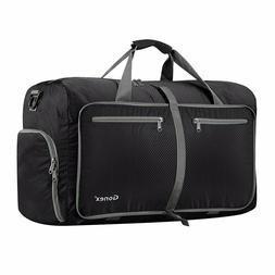 60L Travel Duffle Bag Lightweight Multi Purpose Large for Gy
