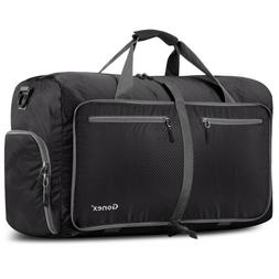 80L Unisex Travel Carry-On Waterproof Luggage Camping Sport