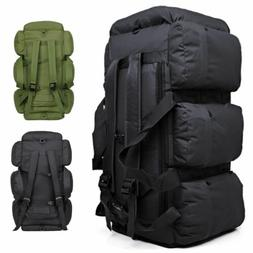 90L Large Tactical Camping Backpack Duffle Bag Luggage Outdo