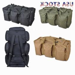90L Utility Tactical Shoulder Camping  Military Backpack Duf