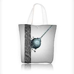Canvas Shoulder Hand Bag fragility and strength and resistan