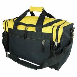 """DALIX 17"""" Duffle Travel Bag with Water Bottle Mesh Pockets i"""