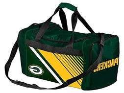 FOCO Green Bay Packers Border Stripe Duffle Bag