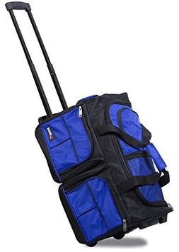 "HiPack HiQuality Multiple Organizer Pockets Rolling 20"" Duff"