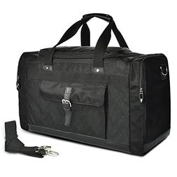 LUXUR 55L Travel Duffel Bag Water Resistant Oversized Hiking