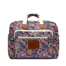 Malirona Women's Canvas Overnight Weekender Bag Carry On T