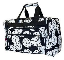 N. Gil Volleyball Print Duffle Bag