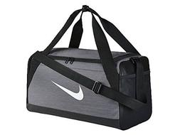 Nike Brasilia  Training Duffel Bag Flint Grey/Black/White Si