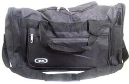 "TOTE BAG 22"" INCH 40LB. CAPACITY BLACK DUFFLE GYM BAG  LUGGA"