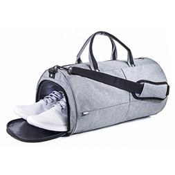 The Everyday Duffel Bag - Travel/Gym Duffle Tote - INCLUDES