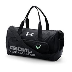 787c16ae82c400 Under Armour Boys' Armour Select Duffle, Black /White, One S