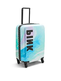 VICTORIA SECRET PINK HARD CASE wheelie rolling suitcase carr