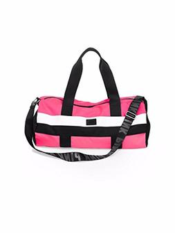 321fd3fd2f94 Victoria s Secret Hot Neon Pink Gym Duffle