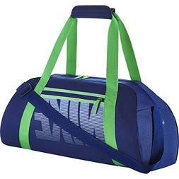Women's Nike Gym Club Training Duffel Bag, BA5167 455 Blue/G