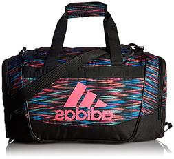 adidas 104385 Defender II Small Duffel Bag, One Size, Black