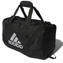 adidas Defender III Duffel Bag, Black/Silver, Medium