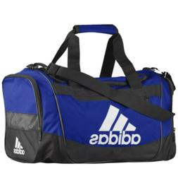 adidas Defender III Duffel Bag, Blue/Black/White, Small