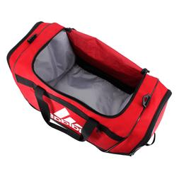 adidas Defender III Duffel Bag-Power Red/Black/White, Large