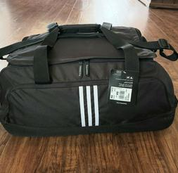 Adidas Medium Golf Rolling Duffle Bag, Collapsible Handle, N