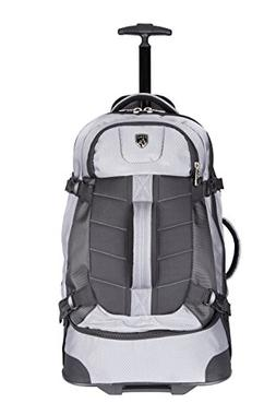 """TPRC 23"""" AEROS Rolling Dual Tone Backpack with Laptop Compar"""