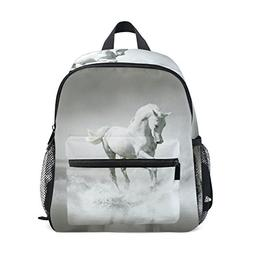 Age 3-8 Horse Pattern Print Toddler Preschool Backpack e2e7e0f6875a3