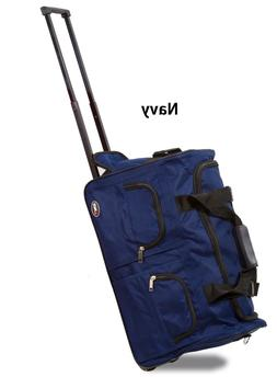 American Hipack Deluxe 22-inch Carry-on Rolling Upright Duff