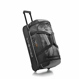 "Samsonite Andante 28"" Drop Bottom Wheeled Duffel Black & Gra"