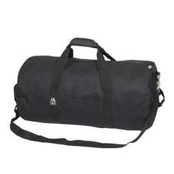 Everest 23P-BK 23 in. Basic Round Duffel Bag