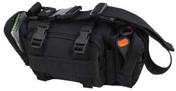 Black Military Tactical Convertipack Shoulder Style Duffle W