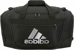 Adidas Black/Silver Defender III Small Duffel Bag
