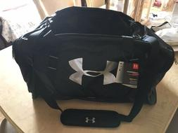 UNDER ARMOUR BLACK UNDENIABLE 3.0 LARGE DUFFLE BAG
