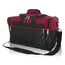 "DALIX 17"" Blank Duffle Bag Duffel Bag Travel Size Sports Dur"