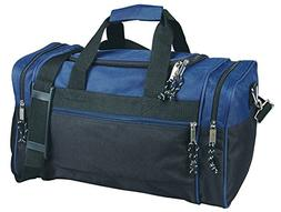 "17"" Blank Duffle Bag Duffel Travel Camping Outdoor Sports Gy"
